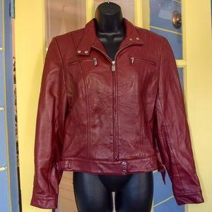 Hugo Buscati Leather moto jacket